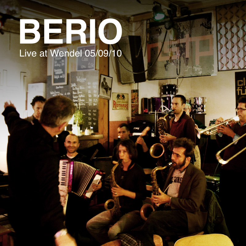 BERIO - Live at Wendel - Cover